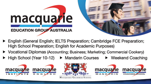 MACQUARIE EDUCATION GROUP AUSTRALIA