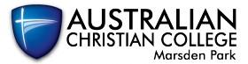 Australian Christian College - Marsden Park