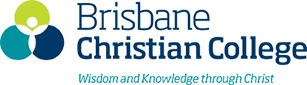 BRISBANE CHRISTIAN COLLEGE