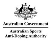 AUSTRALIAN SPORTS ANTI-DOPING AUTHORITY