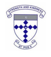 St Pius X School - Education Guide