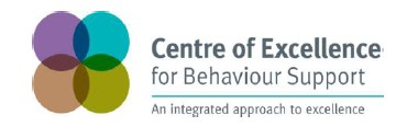 Centre of Excellence for Behaviour Support