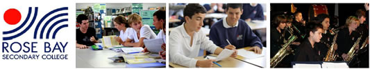 Rose Bay Secondary College - Education Guide